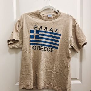 Thrifted Greece T Shirt